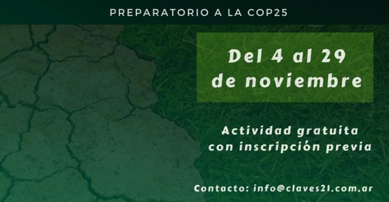 Curso sobre cambio climático para periodistas de Claves21 y LatinClima