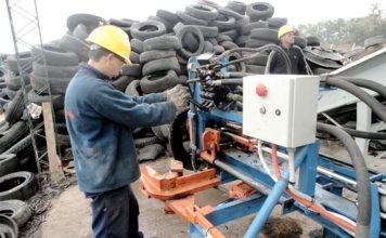 reciclado de neumáticos