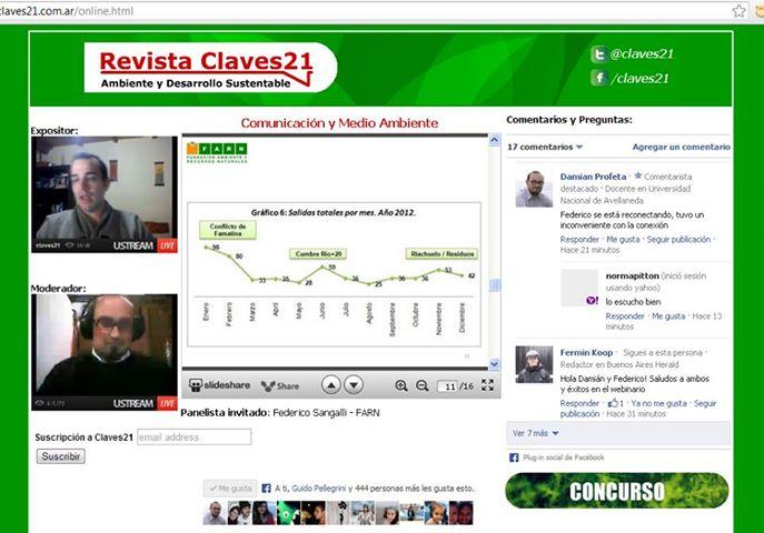 noticias ambientales - webinario Claves21