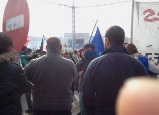 represion neuquen multisectorial contra fracking