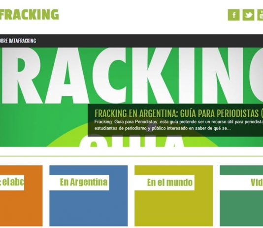 Fracking en Argentina: plataforma DataFracking