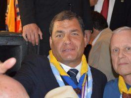 Rafael Correa en Argentina