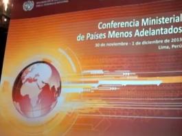 Conferencia de Países Menos Adelantados 2013 en Lima
