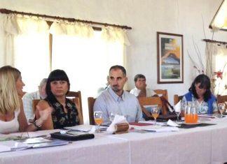 Laura Juárez, presidenta del COFEMA. Colón, Entre Ríos, 2013.
