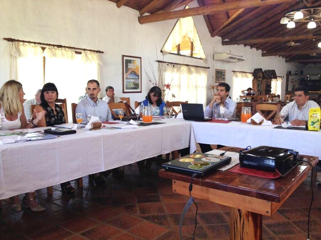 Reunión del COFEMA en Colón, Entre Ríos diciembre de 2013