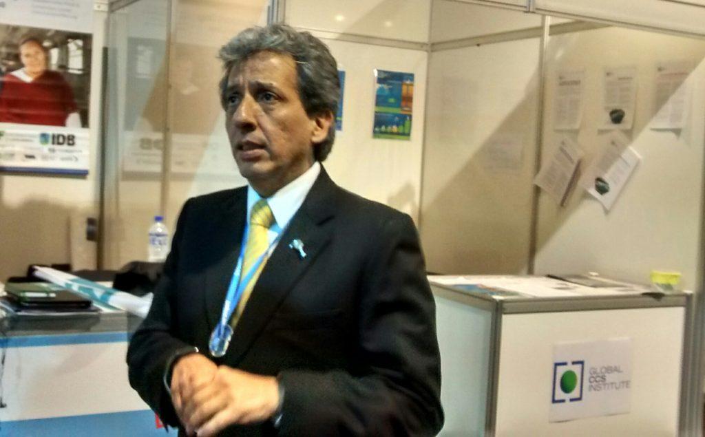 Foto COP20 Manuel Pulgar Vidal presidente de la Conferencia sobre Cambio Climático Lima 2014