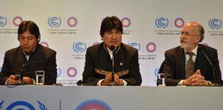 Evo Morales COP20 Lima Conferencia sobre el Cambio Climático 2014
