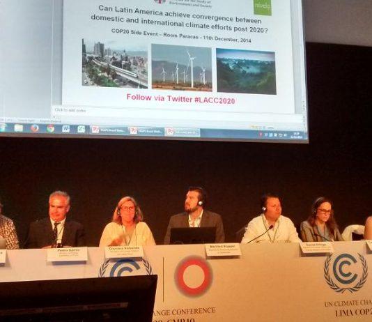 cambio climatico latinoamérica cop20