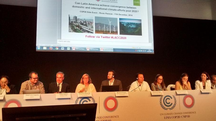 cambio climático en Latinoamérica cop20