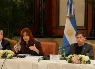 Cristina Kirchner en China: discurso ante empresarios. Política energética argentina