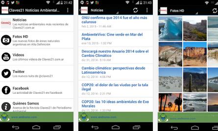noticias ambientales app claves21