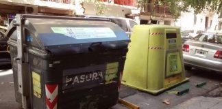 Contenedores de basura en la Ciudad de Buenos Aires. Foto: Damián Profeta. Licencia CC BY-NC-SA 2.0.