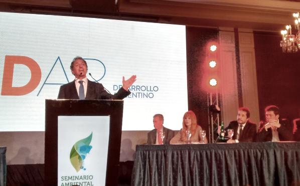 Daniel Scioli en el Seminario Ambiental para el Desarrollo Argentino. Foto: Damián Profeta. Licencia: CC BY-NC.
