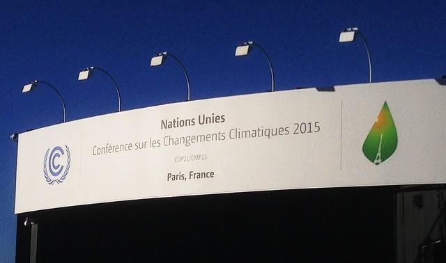COP21 - París 2015. Conferencia de Naciones Unidas sobre el Cambio Climático. Foto: Tavker. Licencia: CC BY-SA 2.0.