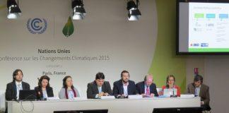 COP21. Agendas Climáticas. Foto: Prensa de FARN.