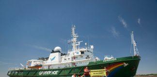 El Esperanza de Greenpeace llegó a Buenos Aires