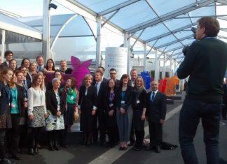 Negociadores en la COP21 de París. Foto: Damián Profeta. Licencia: CC BY-NC 2.0