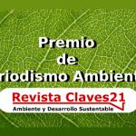 Premio de Periodismo Ambiental 2016