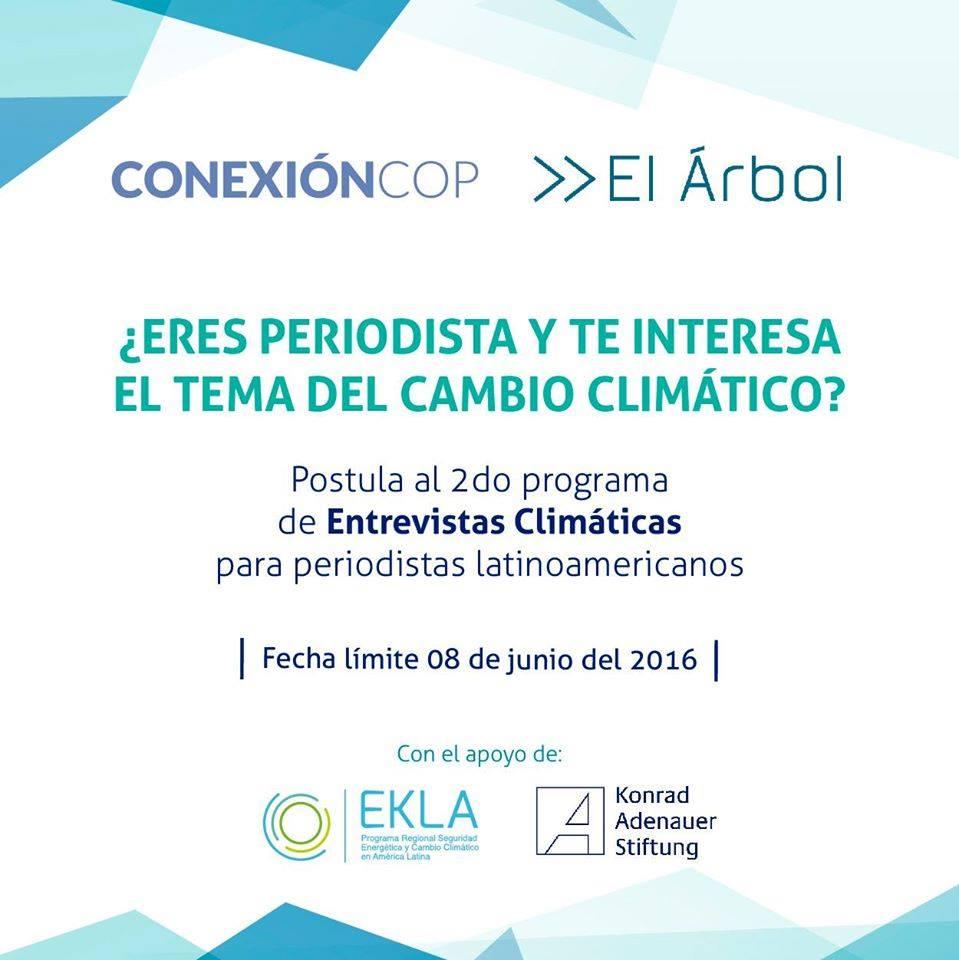 ConexionCOP entrevistas cambio climatico