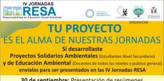 Jornadas RESA: convocatoria a proyectos ambientales