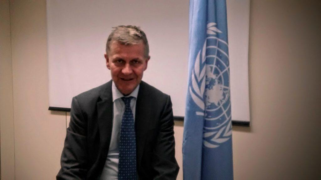 Erik Solheim, director ejecutivo del Programa de Naciones Unidas para el Medio Ambiente -PNUMA. Foto: Damián Profeta. Licencia: CC BY-SA 2.0.