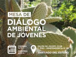 Diálogo ambiental de jóvenes en Santiago del Estero