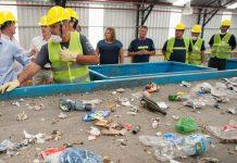 Planta de tratamiento de residuos secos MRF del Gobierno de la Ciudad. Foto: Prensa GCBA.