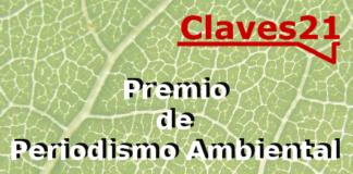 Premio de Periodismo Ambiental Claves21