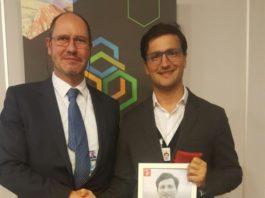 Javier Ureta Sáenz Peña recibió el premio Pioneros de la igualdad de género por un futuro sin tóxicos. Foto: Javier Ureta.