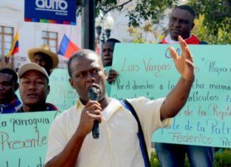 Las comunidades se manifestaron y denunciaron la contaminación de los ríos en Esmeraldas, Ecuador.