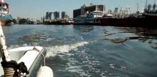Riachuelo: navegación del río más contaminado de la Argentina.
