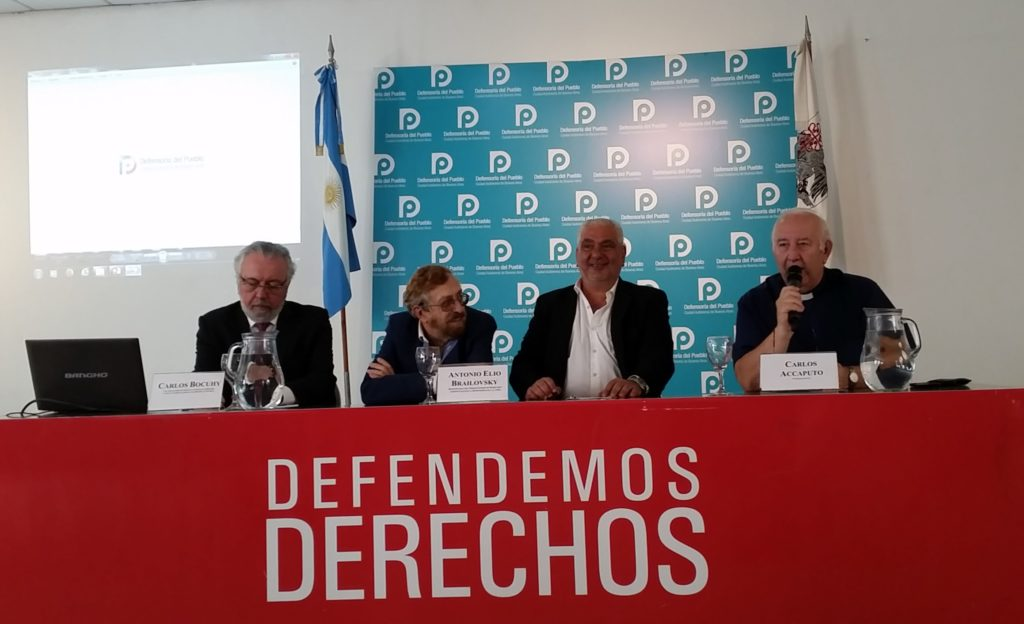 """Jornada """"Foro Alternativo Mundial del Agua 2018"""", en la Defensoría del Pueblo de la Ciudad de Buenos Aires. Foto: Damián Profeta. CC BY 2.0."""