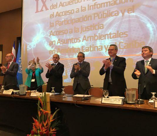 Se suscribió el acuerdo para garantizar en América Latina y el Caribe los derechos consagrados por el principio 10