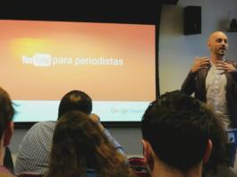 Juan Manuel Lucero, de Google News Lab. Foto: Damián Profeta. Licencia: CC BY NC 2.0.