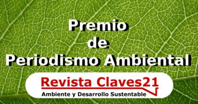 Premio de Periodismo Ambiental de Claves21