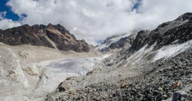 Los glaciares del Huayna Potosí, en Bolivia, muestran un retroceso sin precedentes.