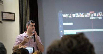 Matías Amigo, periodista, realizador audiovisual y consultor en coberturas digitales con teléfonos móviles.