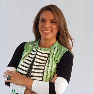 María Lourdes Zimmermann, periodista ambiental de Colombia.