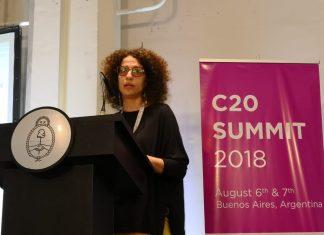 El grupo de afinidad C20 le entregó a Mauricio Macri sus recomendaciones para la cumbre de noviembre, entre las que se incluyeron asuntos de agenda climática.