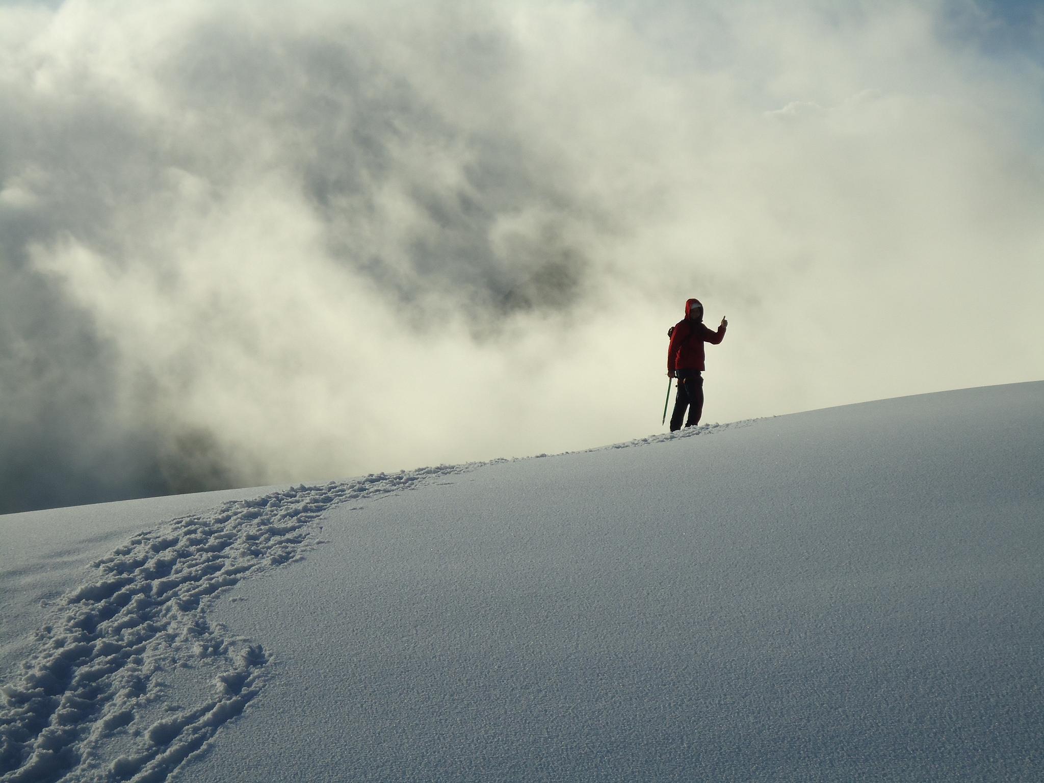 Glaciar del Pico Humboldt. Foto: Wilfredorrh. Licencia: Creative Commons CC BY-NC-ND 2.0