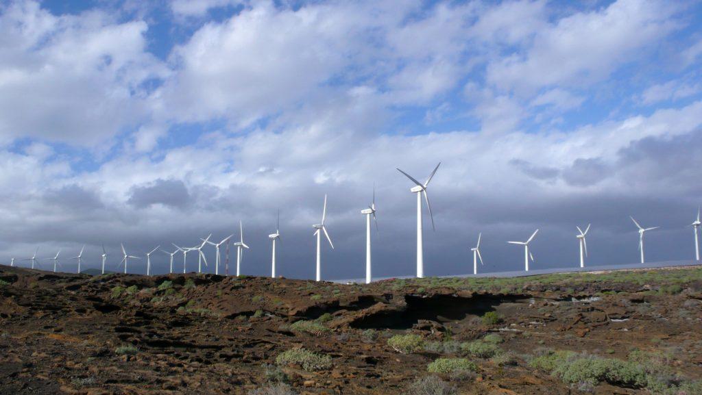 Energías renovables en Argentina: parque eólico