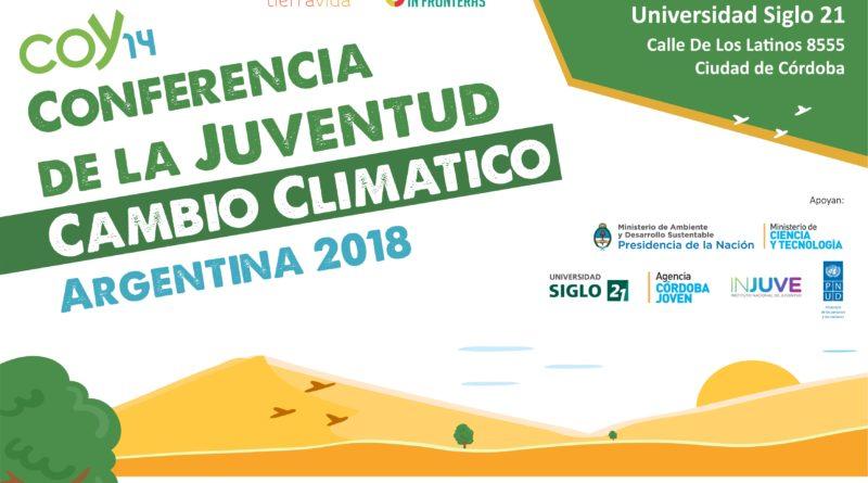 La COY es un evento internacional organizado por YOUNGO, organización que nuclea las actividades y opiniones de los jóvenes alrededor del mundo en relación al cambio climático.