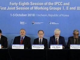 IPCC informe grado y medio.