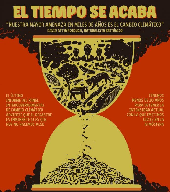 Cambio climático: el tiempo se acaba. Esta nota editorial está suscripta por 27 medios y organizaciones periodísticas de América Latina.