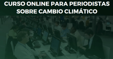 Curso Online Periodismo Cambio Climático